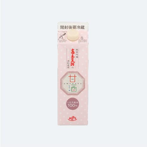 全量八王子産仕込み髙尾の天狗 純吟酒粕使用の甘酒 600mlの画像