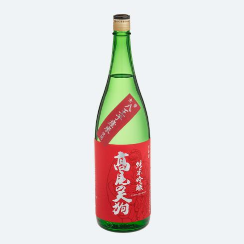 髙尾の天狗 純米吟醸 1800mlの画像