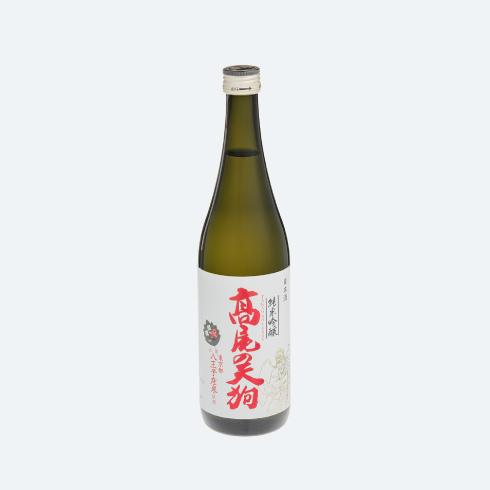 髙尾の天狗 純米吟醸 720mlの画像